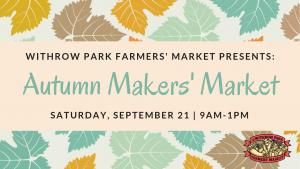 Autumn Makers Market