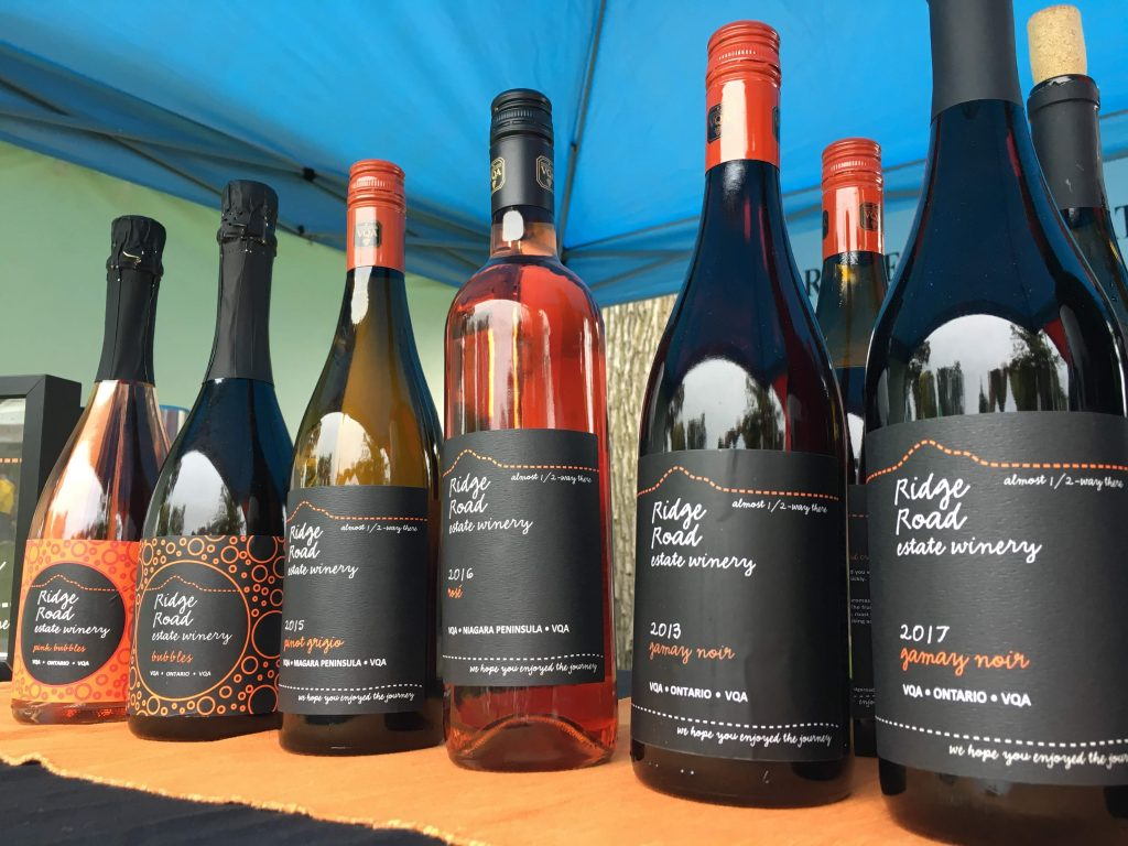 RIDGE ROAD WINE