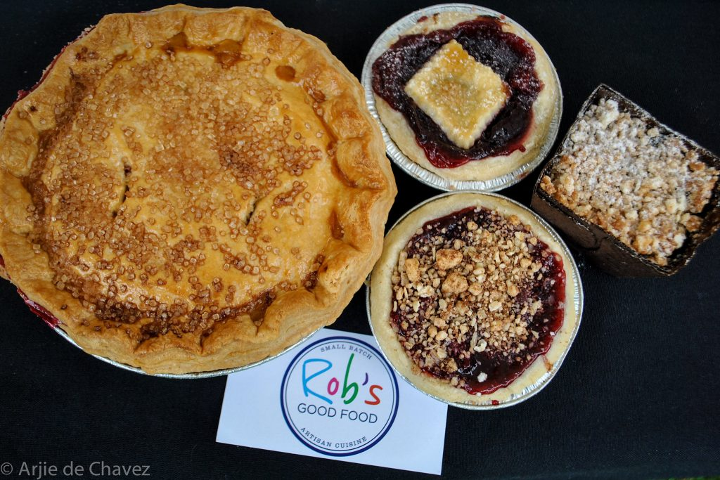 assorted baked goods from Rob's Good Food
