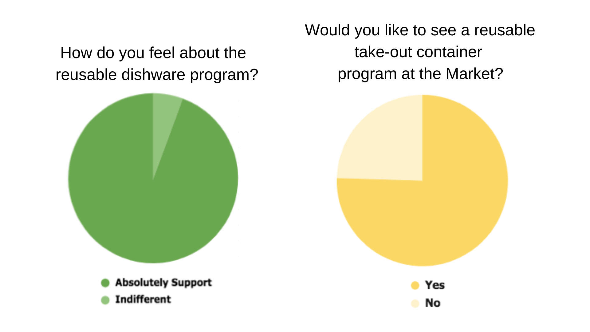 Survey Pie Charts