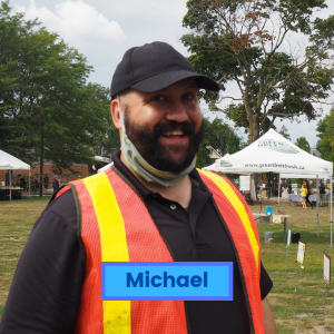 Volunteer Michael