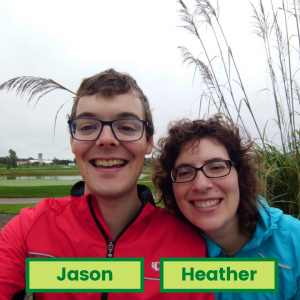 Volunteers Jason & Heather