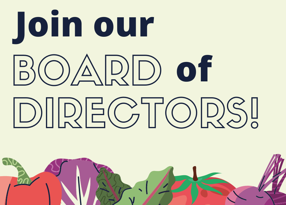 Join our Board!