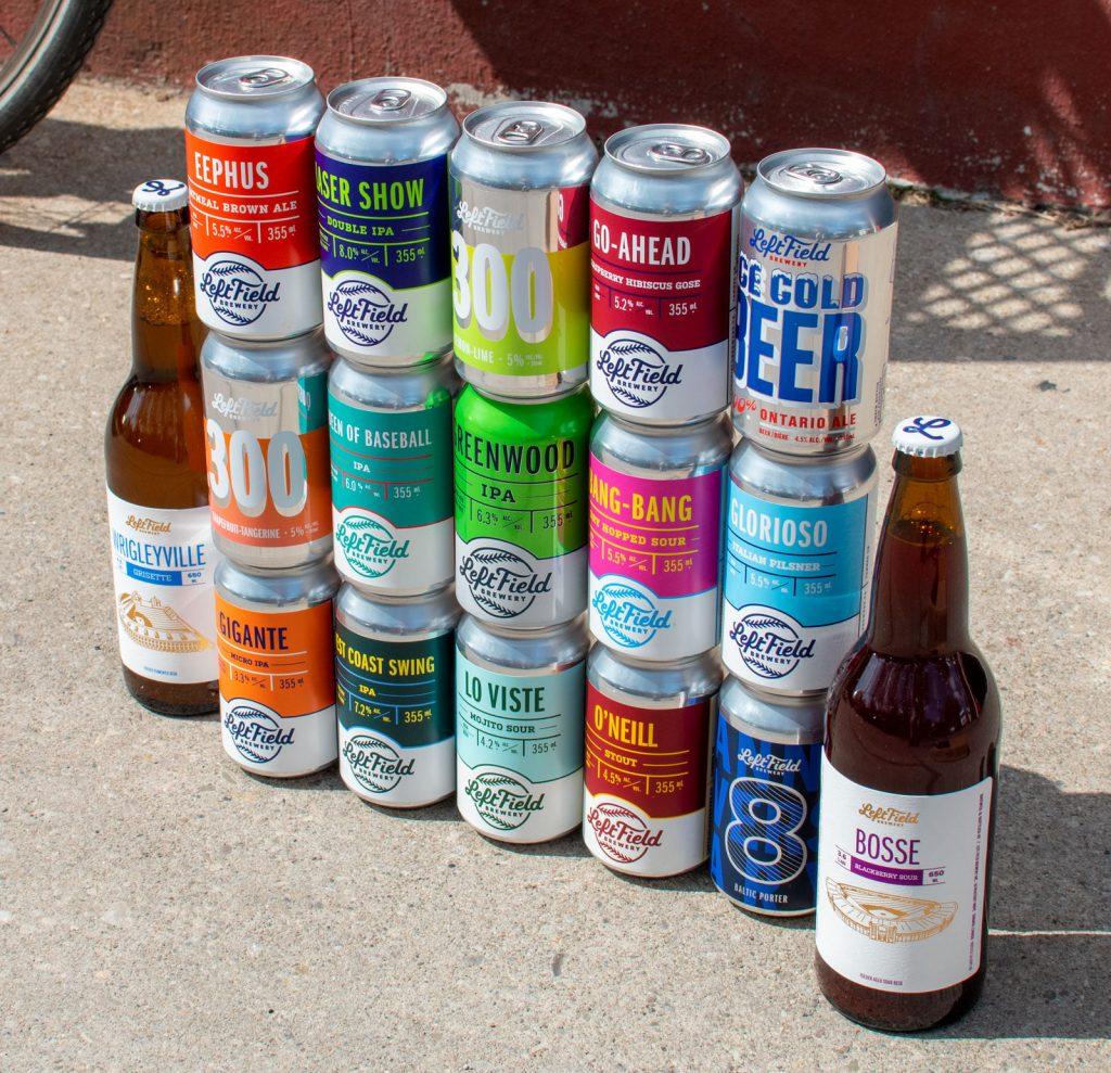 Left Field Brewery beer